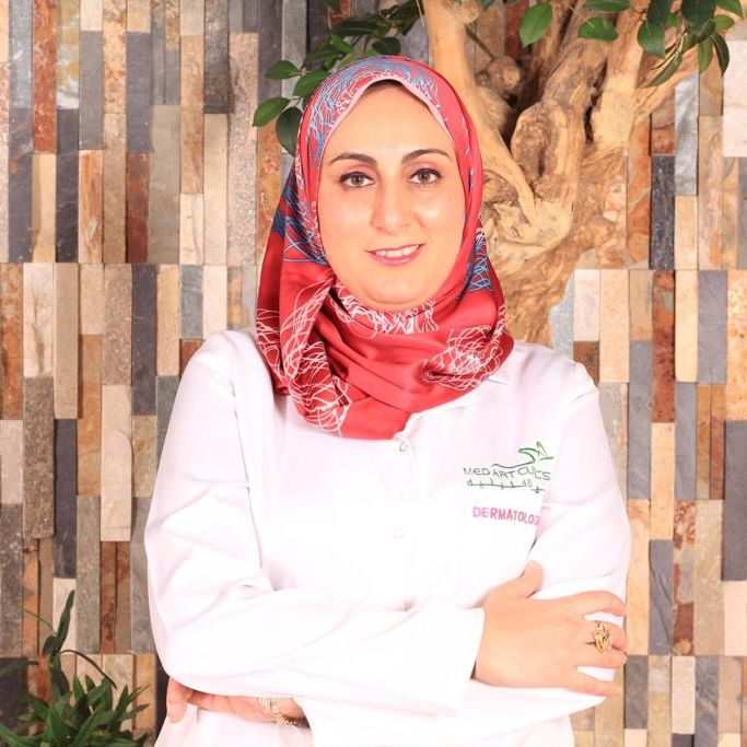 الدكتورة ريهام خطاب اخصائية الجلدية والتجميل عيادات ميدارت الرياض فنون الطبي حقن البوتكس