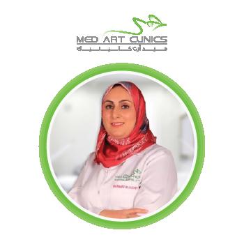 الدكتورة ريهام خطاب اخصائية الجلدية والتجميل بالرياض السعودية عام 2021 بعيادات ميدارت الرياض 2