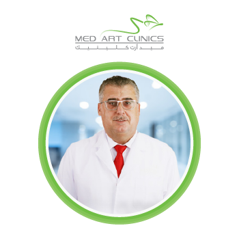 دكتور محمد سرحال اخصائي الجلدية والتجميل بعيادات ميدارت الرياض بالسعودية عام 2021